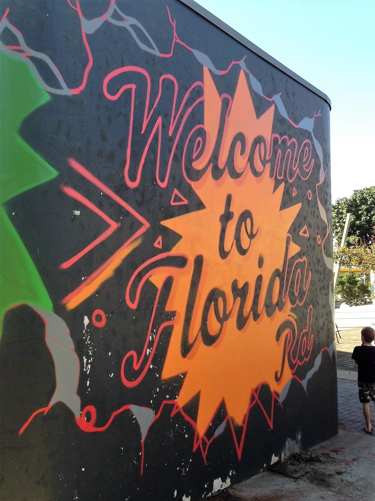 florida road mural